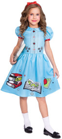 Girls Library Lover Fancy Dress Costume
