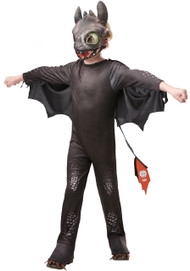 Child's Toothless Night Fury Fancy Dress Costume