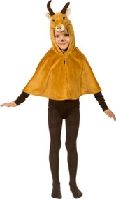 Childs Springbok Fancy Dress Cape