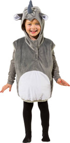 Childs Rhino Fancy Dress Costume