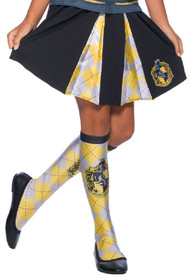 Girls Hufflepuff House Fancy Dress Skirt