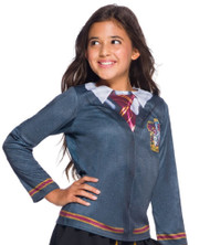 Girls Gryffindor House Fancy Dress Top