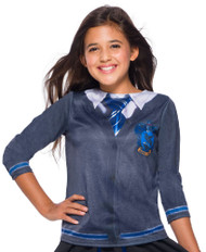 Girls Ravenclaw House Fancy Dress Top