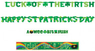 St Patricks Day Party Banner Pack