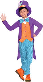 Boys Bright Hatter Fancy Dress Costume