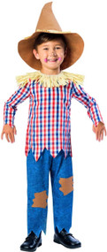 Child's Scarecrow Fancy Dress Costume
