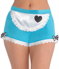 Ladies Alice Fancy Dress Hot Pants