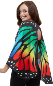 Adults Soft Monarch Butterfly Fancy Dress Wings