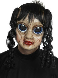 Adults Creepy Doll Fancy Dress Mask