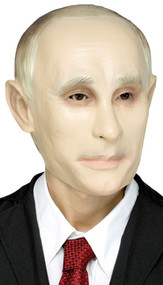Mens Putin Fancy Dress Mask