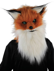 Adult Moving Jaw Fox Fancy Dress Mask