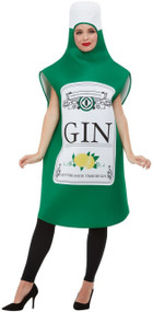 Adults Gin Bottle Fancy Dress Costume
