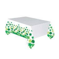 Shamrock St Patricks Day Party Table Cover
