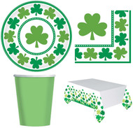 Complete 33 Piece Shamrock Party Set