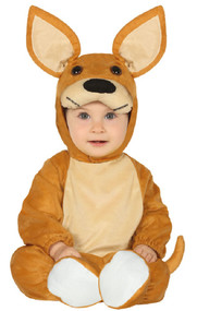 Baby Aussie Kangaroo Fancy Dress Costume