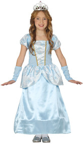 Girls Midnight Princess Fancy Dress Costume 2