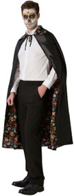 Adults Reversible Day Of The Dead Cape