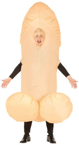 Mens Inflatable Willy Fancy Dress Costume