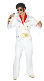 Mens The King Fancy Dress Costume