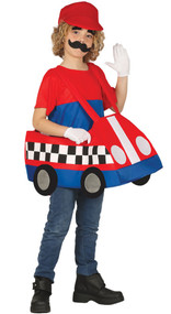 Boys Go Kart Fancy Dress Costume