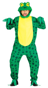 Adult Frog Fancy Dress Costume