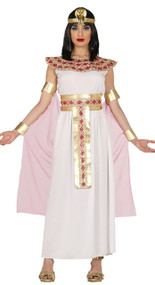 Ladies Pink Egyptianista Fancy Dress Costume