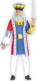 Mens Playing Card King Fancy Dress Costume