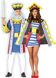 Couples Playing Card Fancy Dress Costumes