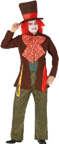 Mens Eccentric Hatter Fancy Dress Costume