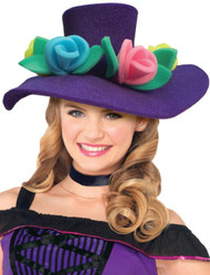 Ladies Floral Foam Fancy Dress Hat