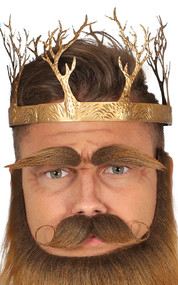 Adult Gold Medieval Crown