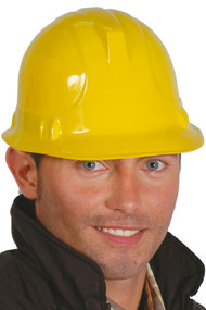 Adult Builder Fancy Dress Helmet