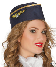 Ladies Air Hostess Fancy Dress hat
