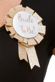 Bride To Be Hen Party Rosette