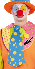 Large Clown Tie Fancy Dress Accessory