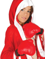 Child's Red Boxing Gloves