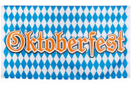 Large Oktoberfest Flag Decoration