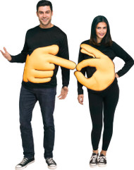Couples Hand Sign Fancy Dress Costumes