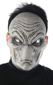 Adult Grey Alien Fancy Dress Mask