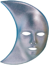 Adult Moon Fancy Dress Mask