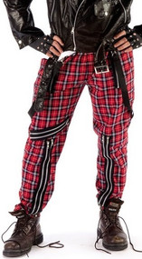 Adult Tartan Punk Trousers