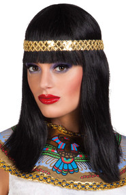 Ladies Cleopatra Wig with Hairband