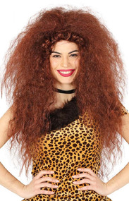 Ladies Prehistoric Cave Woman Fancy Dress Wig