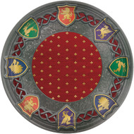 Medieval Throne Games Large Party Plates