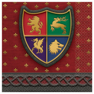 Medieval Throne Games Small Party Napkins