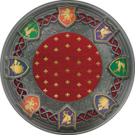 Medieval Throne Games Small party Plates