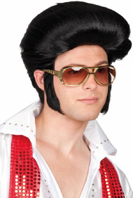 Mens 1950s Rock Star Wig