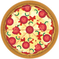 Large Pizza Party Plates