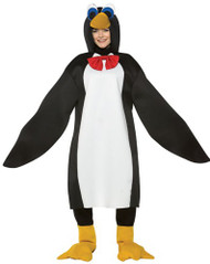 Adults Penguin Fancy Dress Costume