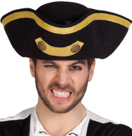 Mens Admiral Fancy Dress Hat